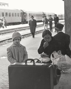 Emigrants at the Palermo Station