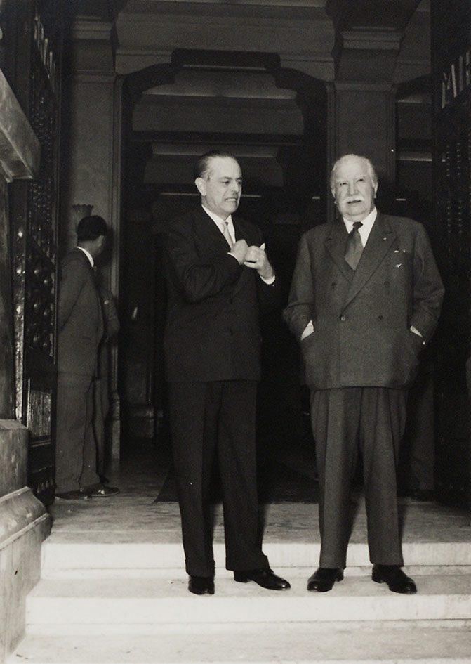 Gaetano Martino and Joseph Bech