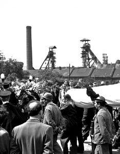 Marcinelle victims funerals