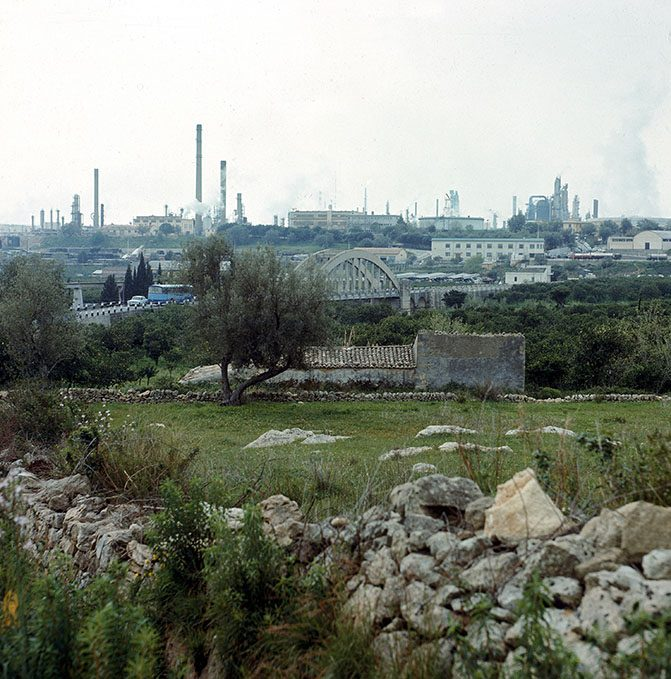 View of the Refineries